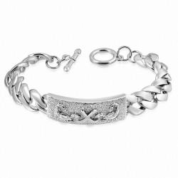 Bracelet à bascule en alliage de mode avec signe du zodiaque Scorpion