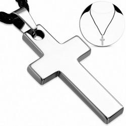 Pendentif homme tungstene croix latine