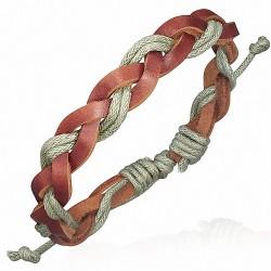 Bracelet homme fantaisie cuir